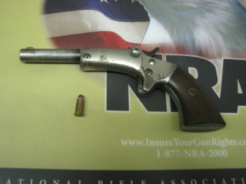 Stevens tip-up pistol