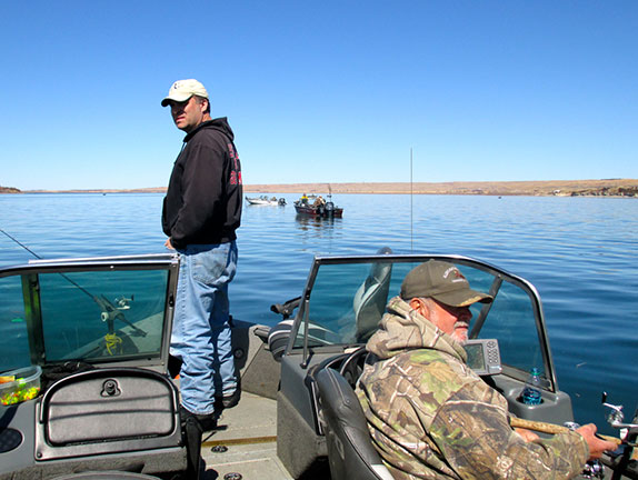 Heading west for open water northwest iowa outdoors for Chamberlain sd fishing report