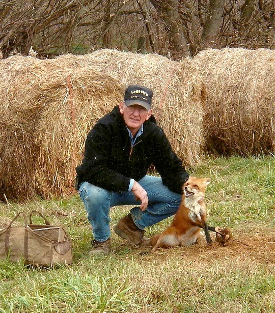 "(photo submitted): Ron Leggett, an expert on trapping both red fox and coyotes will share trapping strategies during the Northwest Iowa Fur Exchange ""Fall Open House"" on Saturday, October 11."