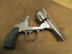 The top break style of revolver was very common in the early 1900's.