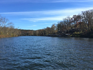 The beauty of Lake Taneycomo in the late fall.