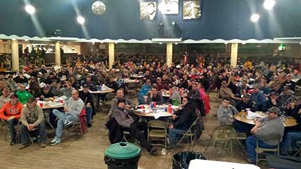 Last year's Ice Bash was well attended. This year's event will include a meal, rules meeting, seminars, product demos, vendors and door prizes.