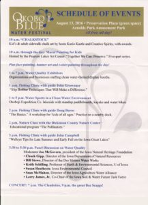 Ok Blue Water Festival Schedule
