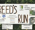 #2b-Reeds Run sign